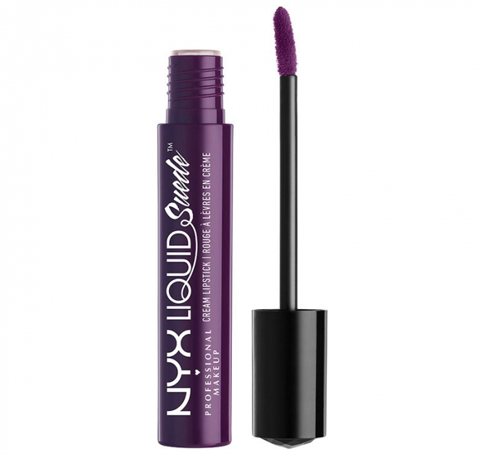 Ruj lichid mat NYX Professional Makeup Liquid Suede Cream, 19 Subversive Socialite, 4 ml-big