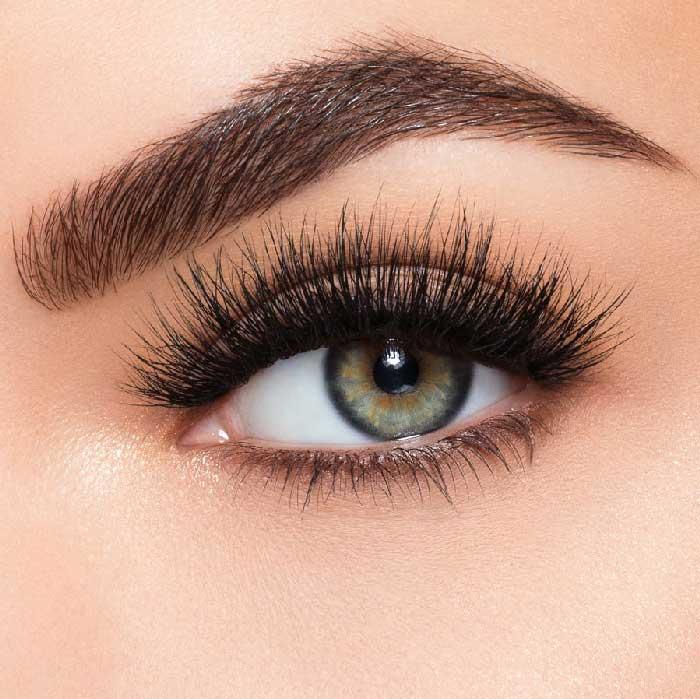 Set Gene False simple de Tip Banda, Eyelashes 9-4-big