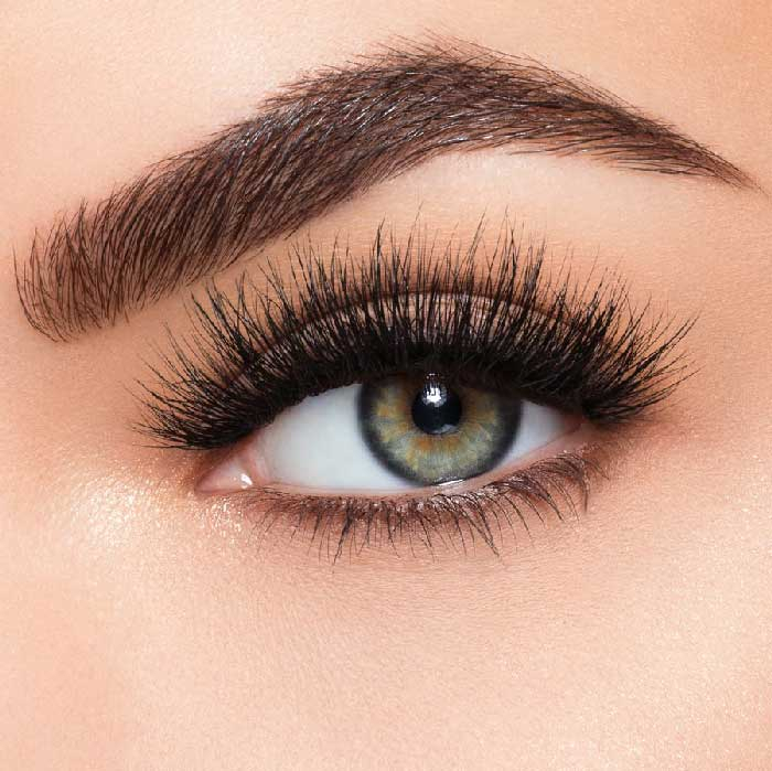Set Gene False simple de Tip Banda, Eyelashes 9-6-big