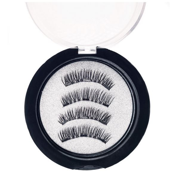 Set Gene False cu prindere magnetica in 3 magneti, Black Diamond, Eyelash 029-big