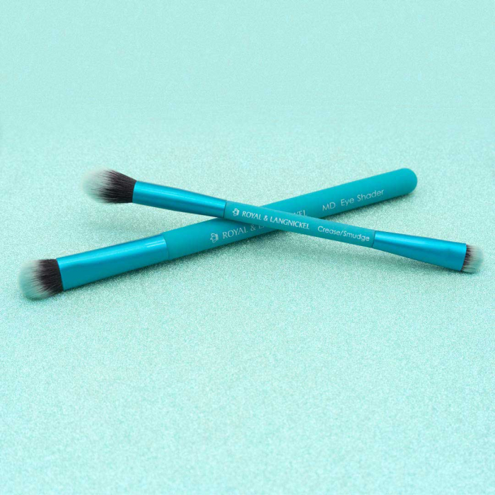 Set pensule profesionale pentru Smoky Eyes Royal & Langnickel MODA EZGlam Duo-big