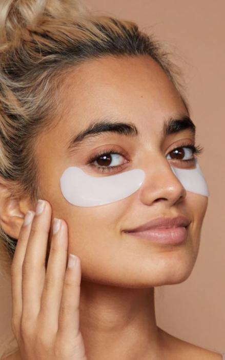 Set Plasturi Tratament pentru ochi cu Castravete, SKIN ACADEMY Gel Eye Patches, 4 seturi (8 plasturi)-big