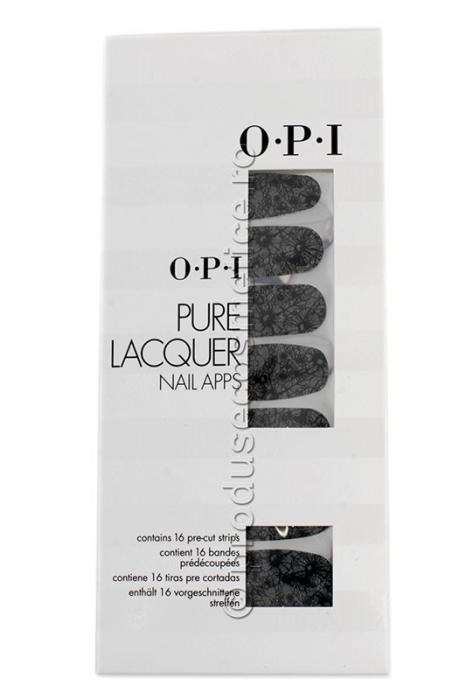 Pachet 16 Abtibilduri Pentru Unghii OPI Pure Lacquer-Floral-big
