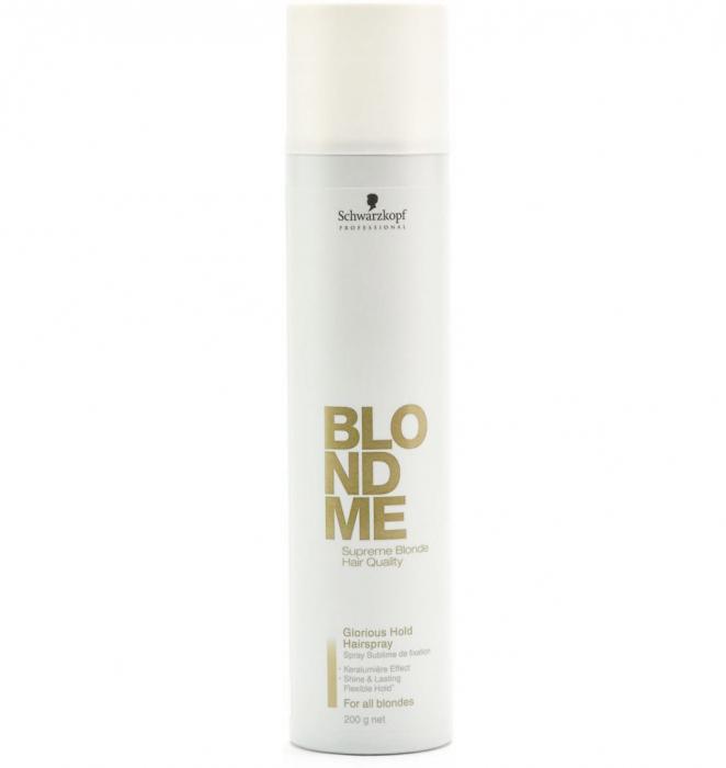 Spray fixativ Schwarzkopf BlondMe Glorious Hold Hairspray, 300 ml-big