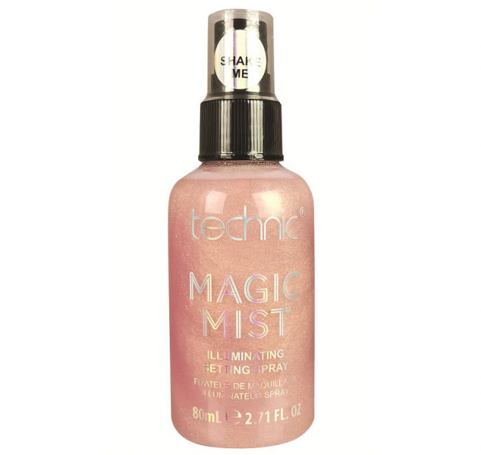 Spray Iluminator Fixare Machiaj Technic Magic Mist Illuminating Setting Spray, Rose Gold, 80 ml-big