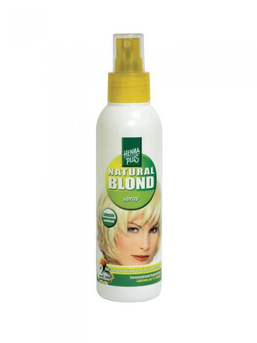 Spray cu Musetel HennaPlus pentru Par Blond - 150 ml-big