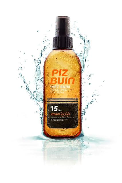 Spray Protectie Solara Piz Buin Wet Skin 150ml cu SPF 15-big