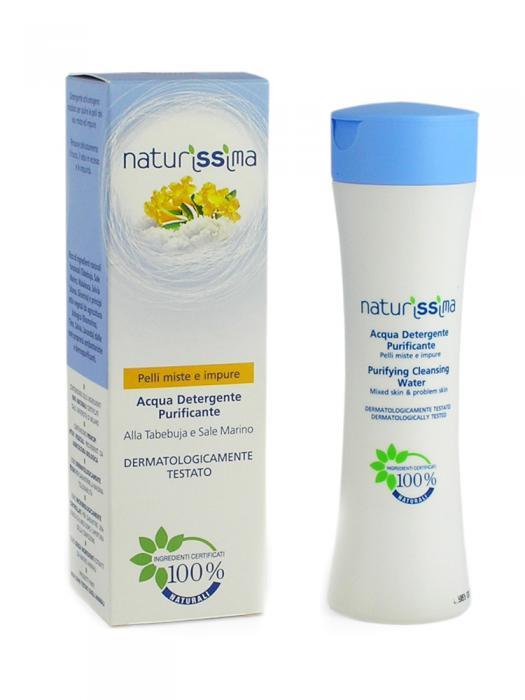 Spuma De Curatare Naturissima Pentru Tenul Mixt Si Acneic-200 ml-big