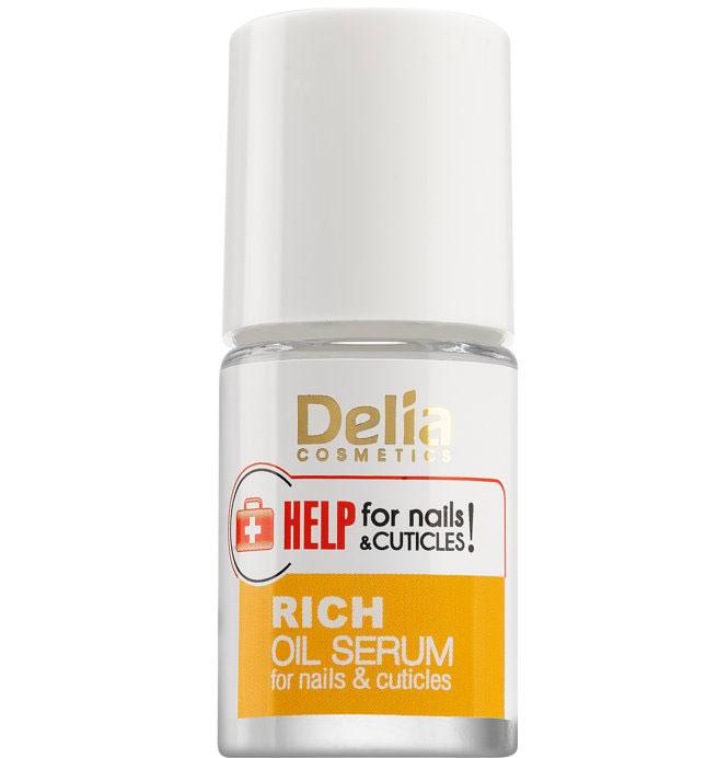 Ser imbogatit cu uleiuri pentru unghii si cuticule, Delia Cosmetics Help for Nails & Cuticles, 11 ml-big