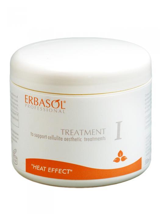 Crema Tratament Anticelulitica Profesionala, Termoactiva, ERBASOL, 500 ml-big