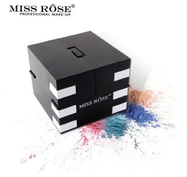 Trusa Profesionala de Machiaj MISS ROSE BLOCKBUSTER 3D cu 148 culori-big