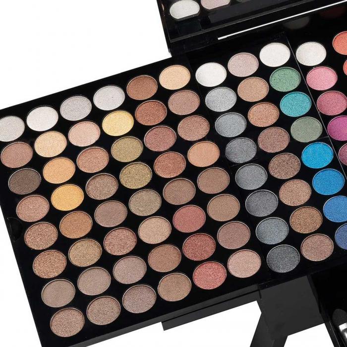 Trusa Profesionala Machiaj cu 190 culori MISS ROSE Blockbuster Piano MakeUp Palette-big