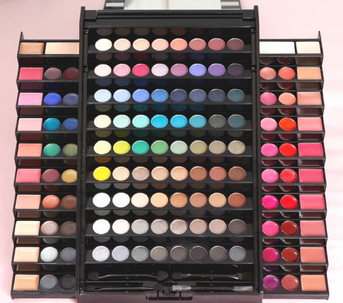 Trusa Profesionala de Machiaj cu 130 culori MEIS Make-Up PREMIUM-big
