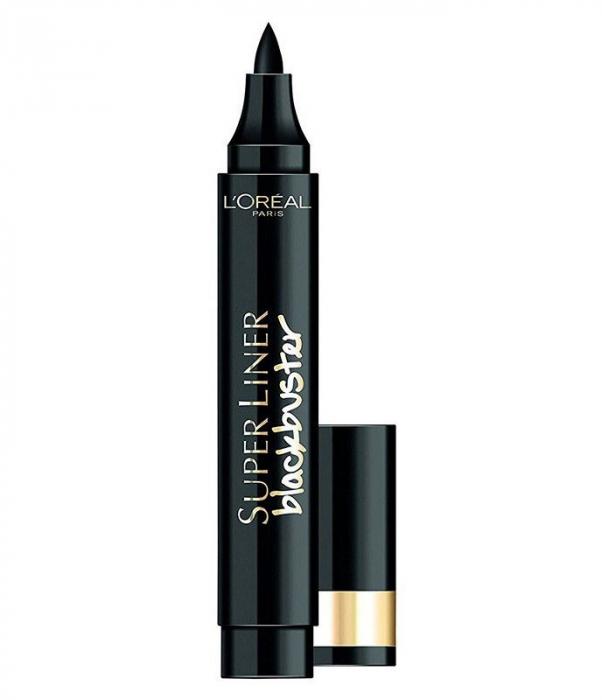 Tus De Ochi Carioca L'Oreal Paris Super Liner Blackbuster Eyeliner, Extra Black-big