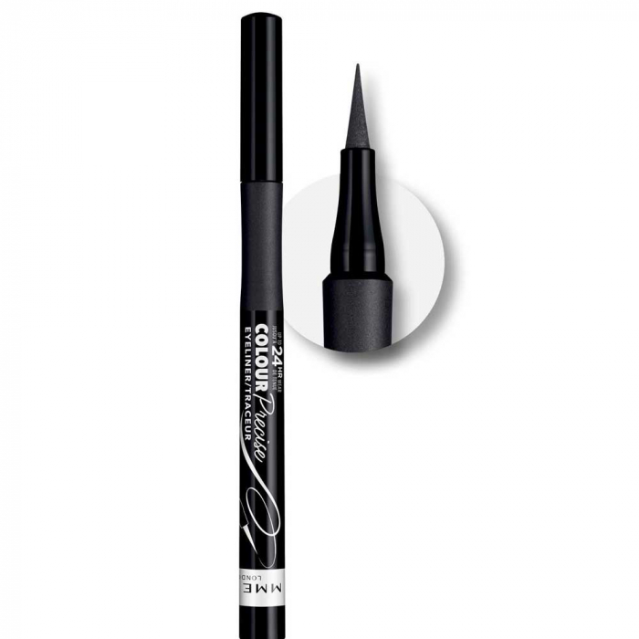Tus de ochi carioca Rimmel London Colour Precise Eyeliner, 001 Black-big