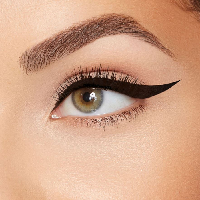 Tus de Ochi cu Stampila, Efect de Tatuaj, Rezistent la Apa 24h, Liquid Eyeliner Pen, Negru Intens, 5 g-big