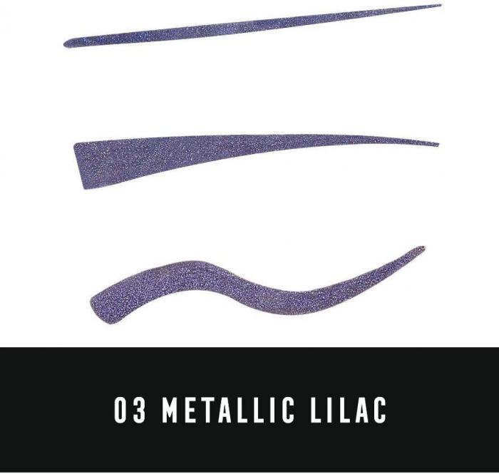 Tus de ochi lichid Max Factor Colour X-Pert Waterproof, 03 Metallic Lilac-big