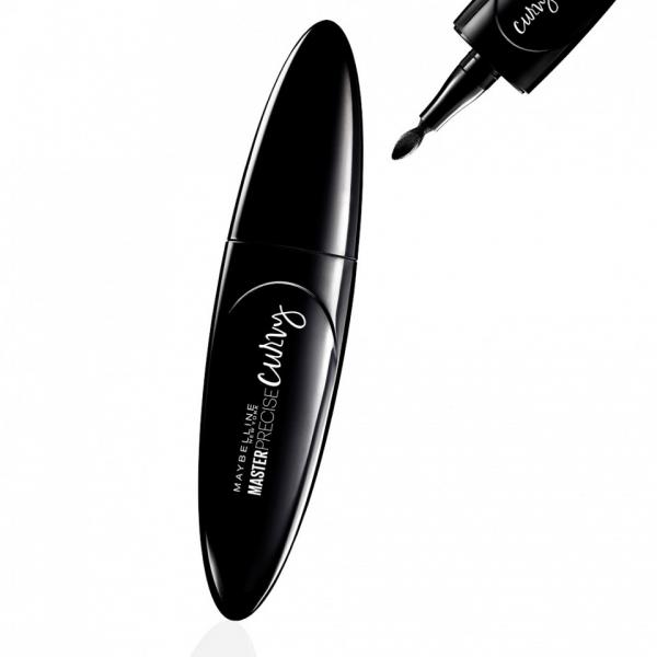 Tus De Ochi Lichid Maybelline MasterPrecise Curvy - 01 Black, 0.5 gr-big