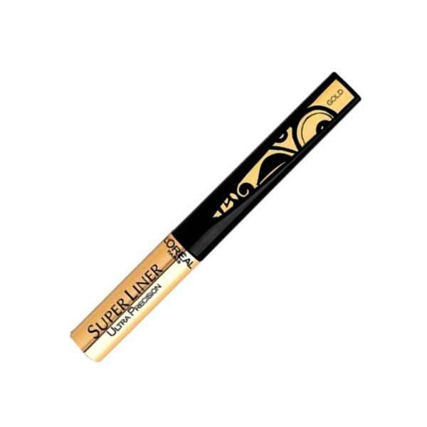 Tus De Ochi Pentru Luminozitate L'OREAL Super Liner Ultra Precision - Gold (Auriu)-big