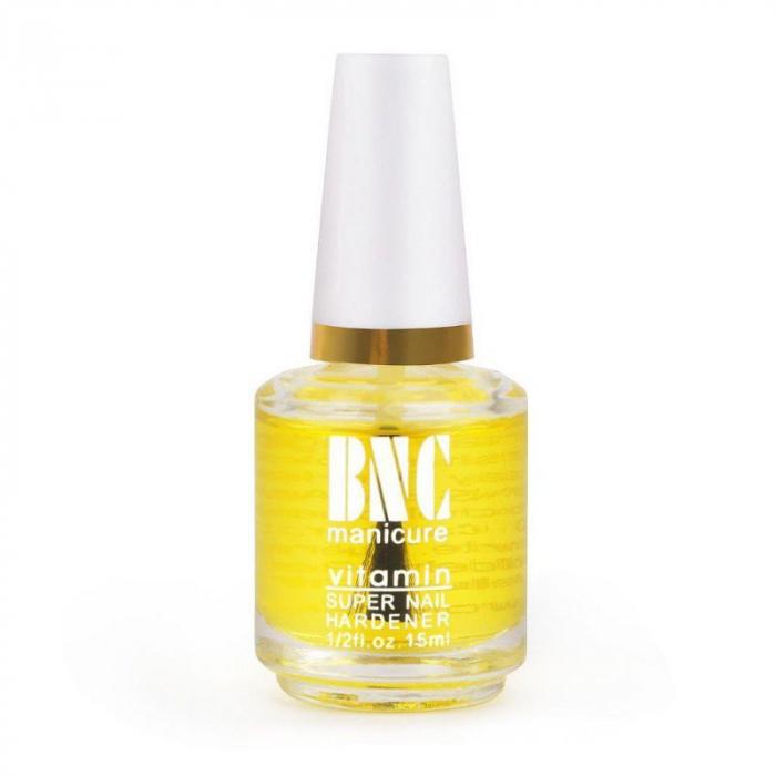 Ulei tratament intaritor pentru cuticule si unghii BNC Manicure cu Vitamine, Minerale si Calciu, 20 ml-big