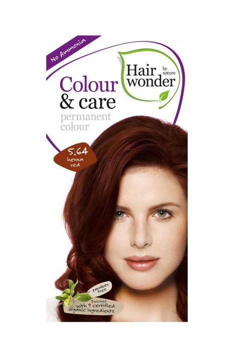 Vopsea De Par Fara Amoniac HennaPlus Hair Wonder-5.64 Red-big
