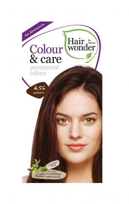 Vopsea De Par Fara Amoniac HennaPlus Hair Wonder-4.56 Auburn-big