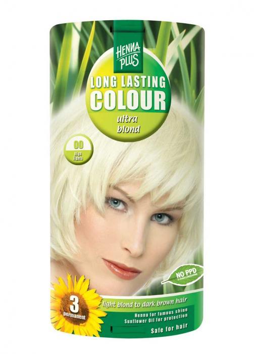 Vopsea De Par HennaPlus Long Lasting-10 High Light Blond-big