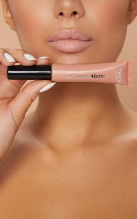 Ruj lichid L'Oreal Paris Infallible Lip Paint Matte, 208 Off-White, 8 ml4