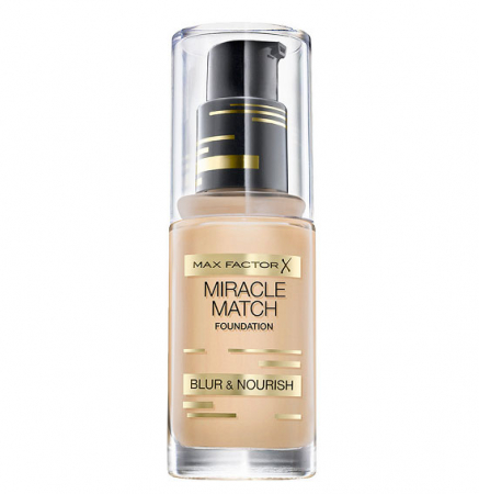 Fond de ten Max Factor Miracle Match, 40 Light Ivory, 30 ml