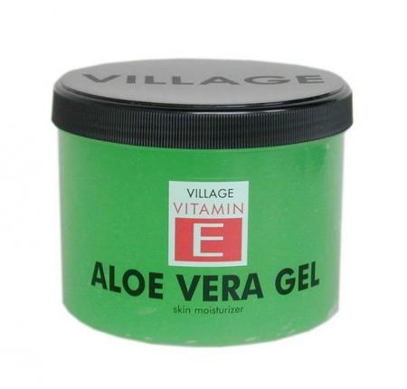 Gel corporal aloe vera, Village Cosmetics, 500 ml