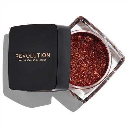 Glitter Gel Makeup Revolution - Glitter Paste, Feels Like Fire
