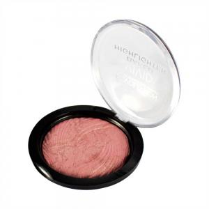 Iluminator MAKEUP REVOLUTION Vivid Baked Highlighter - Rose Gold Lights, 7.5g1
