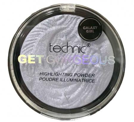 Iluminator Cu Particule Irizante Technic Get Gorgeous Highlighting Powder - Galaxy Girl, 12 gr0