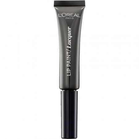 Ruj Lichid L'oreal Infallible Lip Paint Lacquer - 108 Smokey Grey, 8 ml0
