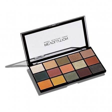 Paleta de farduri Makeup Revolution - Re-Loaded Palette - Iconic Divison, 15 Nuante2