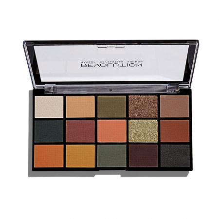 Paleta de farduri Makeup Revolution - Re-Loaded Palette - Iconic Divison, 15 Nuante0