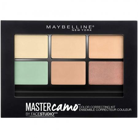 Kit pentru corectarea imperfectiunilor Maybelline New York Master Camo 01 Light, 6.5 g