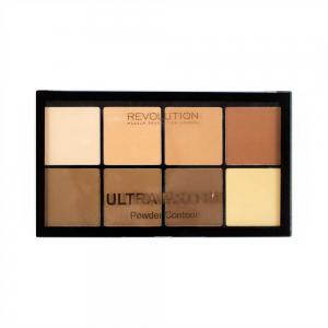 Paleta MAKEUP REVOLUTION HD Pro Powder Contour cu 8 Pudre Pentru Conturare - Light Medium, 20g1