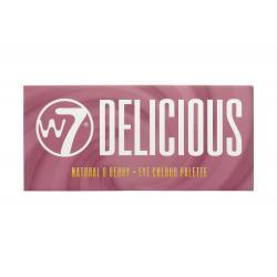 Paleta Profesionala de Farduri W7 Delicious 14pc Eye Colour Palette - Natural & Berry, 11.2g2