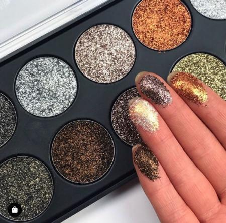 Paleta Technic Glitter Palette, Star Dust, 10 x 2.5g2