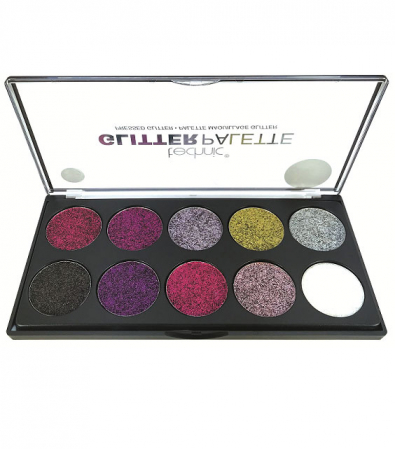Paleta Technic Glitter Palette, Uniform Unicorn!, 10 x 2.5g1