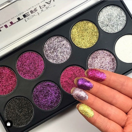 Paleta Technic Glitter Palette, Uniform Unicorn!, 10 x 2.5g2