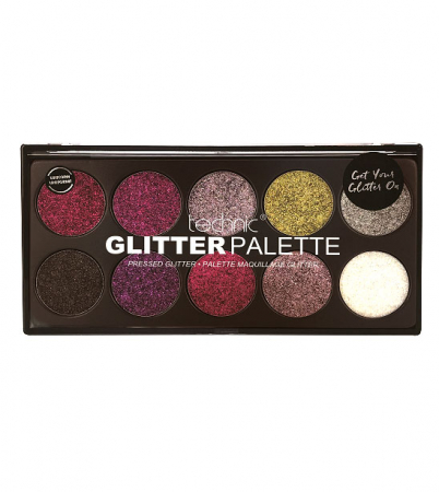 Paleta Technic Glitter Palette, Uniform Unicorn!, 10 x 2.5g0