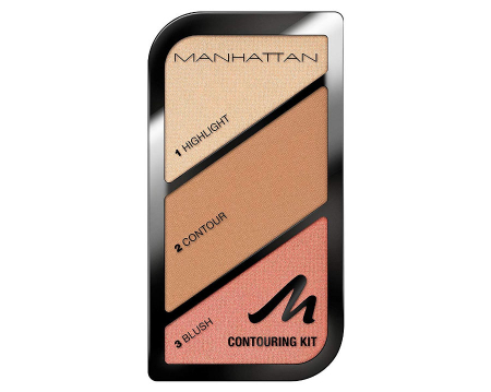 Paleta conturare si evidentiere Manhattan Contouring Kit, 002 Summer In Barbados