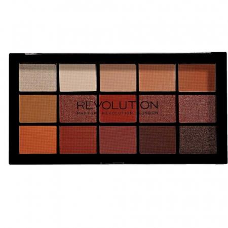 Paleta de farduri Makeup Revolution - Re-Loaded Palette - Iconic Fever, 15 Nuante1