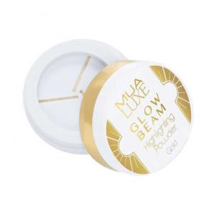 Pudra iluminatoare aurie Luxe Glow Beam Highlighting Powder MUA Makeup Academy Professional, Gold