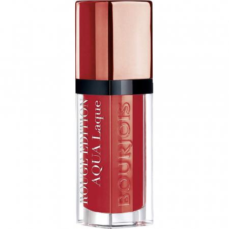 Ruj Bourjois Rouge Edition Aqua Laque, 05 Red my lips, 7.7 ml0