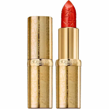 Ruj L'Oreal Color Riche Lipstick, Starlight in Paris Collection, 393 Paris Burning