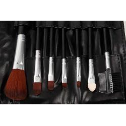 Set 7 Pensule Profesionale Luxury pentru Machiaj - Carbon Black1