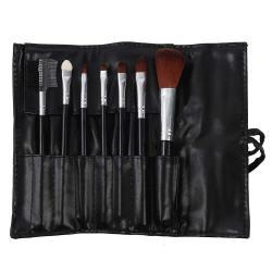 Set 7 Pensule Profesionale Luxury pentru Machiaj - Carbon Black